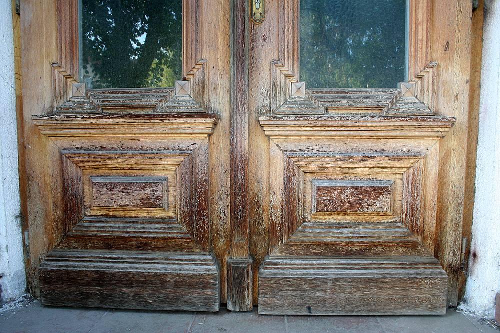 usa din lemn masiv Oradea