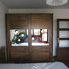 vitralii la mobila dormitor