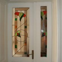 vitralii usa interioara